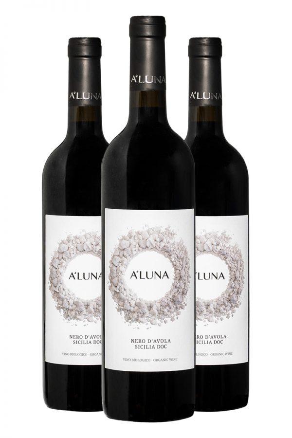 Nero-Davola-biologico-Aluna-vendita-online-3-bottiglie